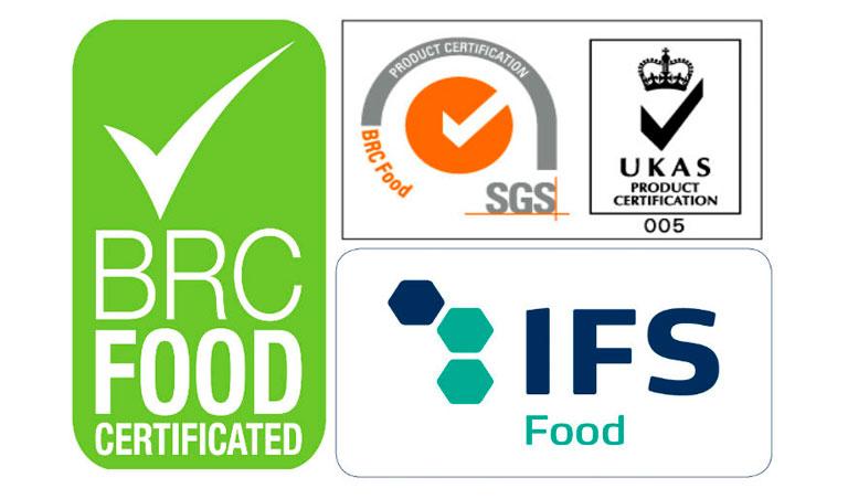 brc certification ifs
